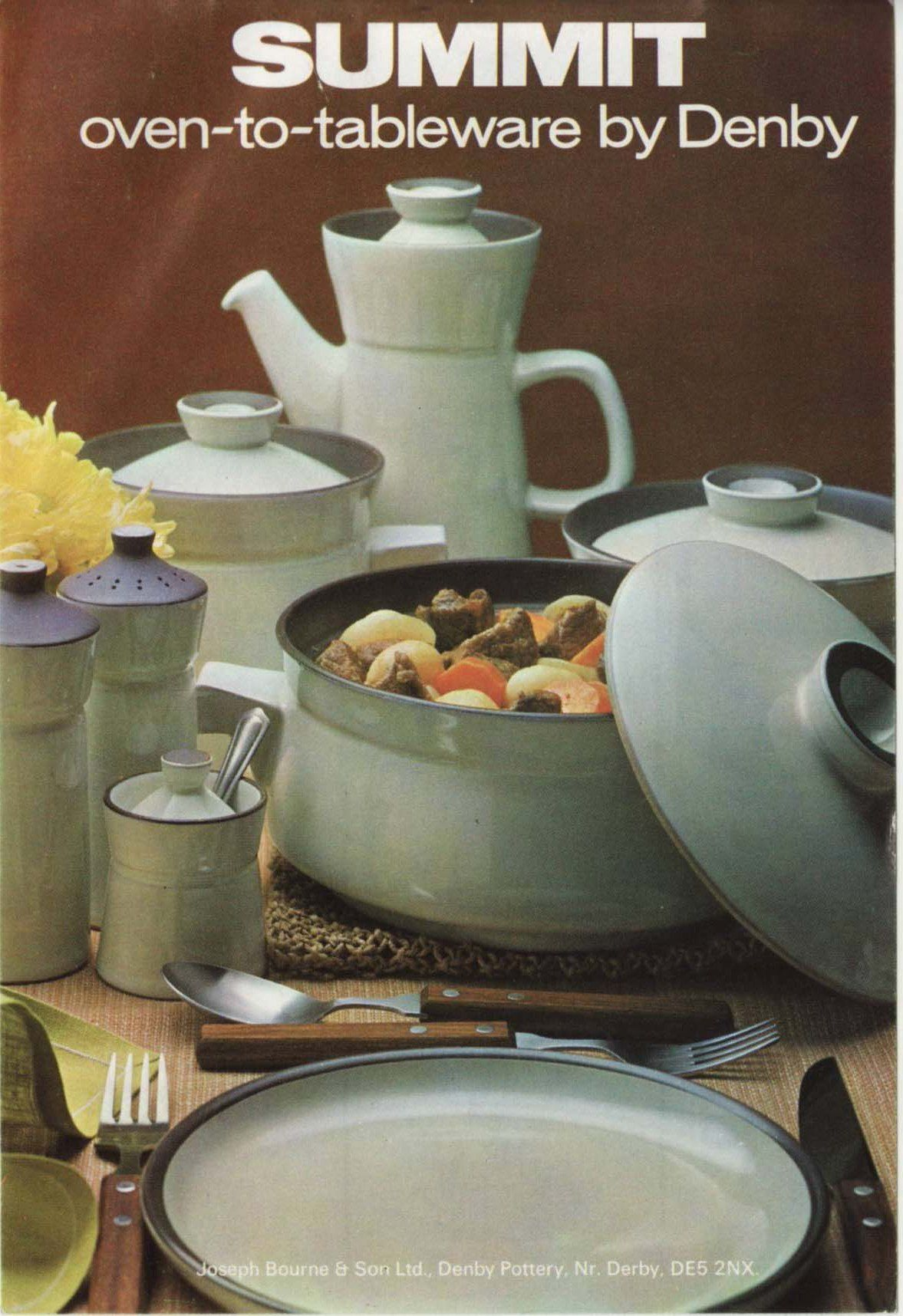 Momu0027s old wedding china looking for replacement pieces especially bowls and salad plates & Denby. Summit. 1969.: Momu0027s old wedding china looking for ...