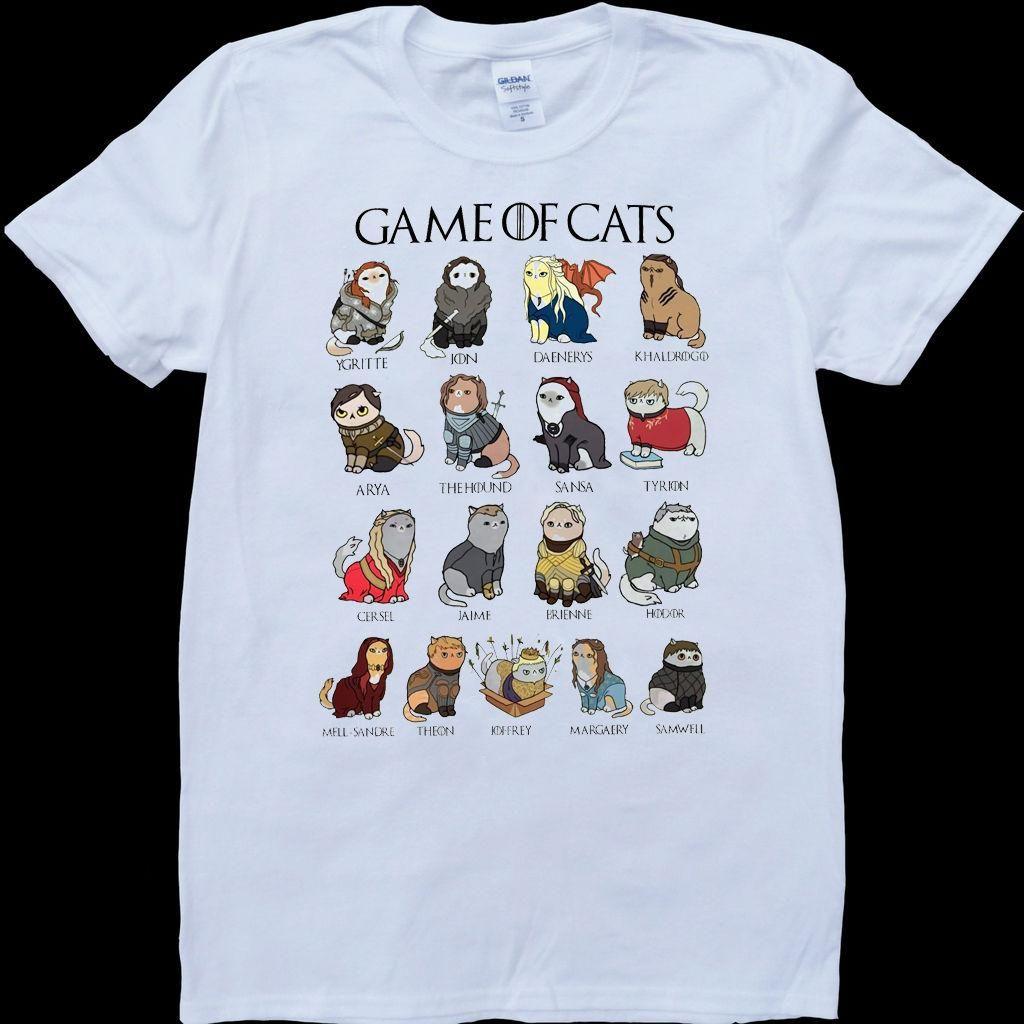 Eightin Game OF Thrones Arya Stark List Man T Shirt Short Sleeve Tops Big Size
