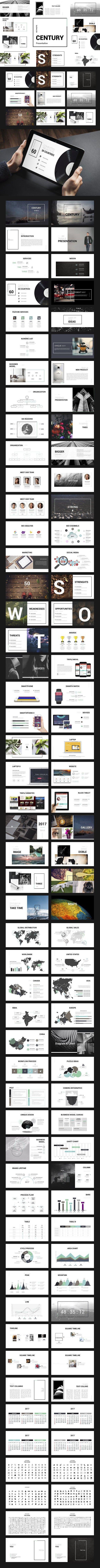 Century | Keynote Presentation | Diseño de presentación y ...