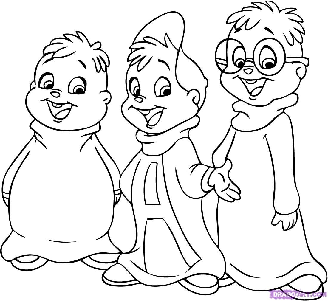 alvin and the chipmunks cartoon - Google Search | Images | Pinterest