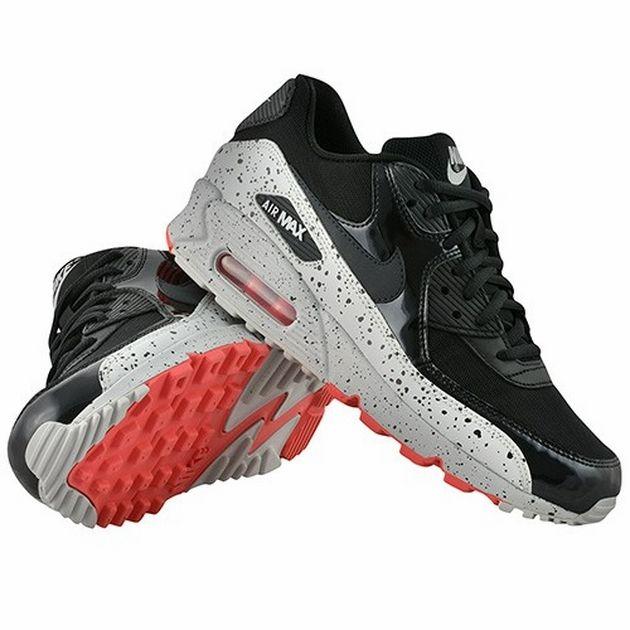Comerciante itinerante rosado tubería  Nike Air Max 90 WMNS – Anthracite / Light Base Grey – Geranium | Air max,  Nike air max, Nike air max 90 black