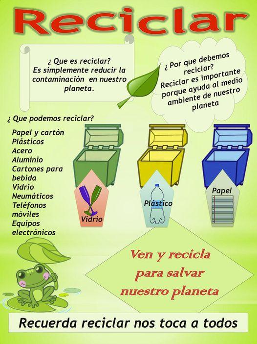 Que podemos reciclar reciclaje pinterest reciclado for Carteleras escolares de reciclaje