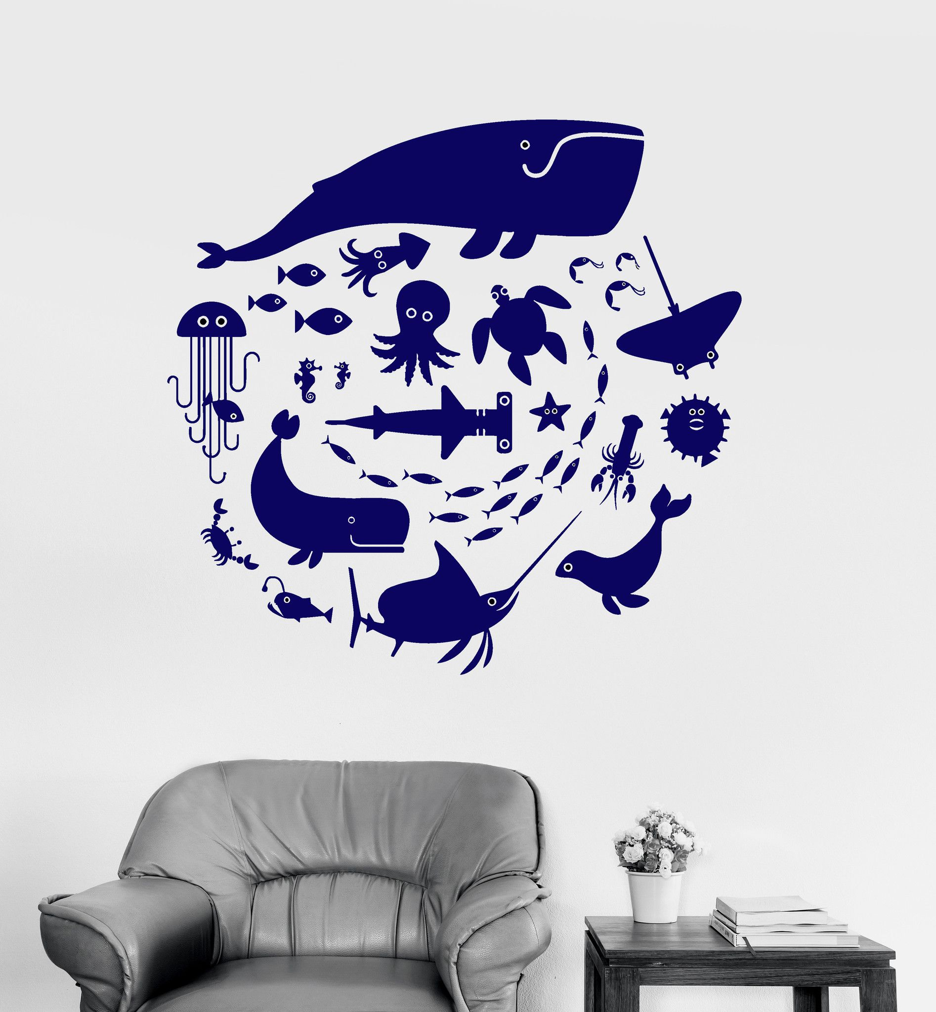 Our vinyl stickers are unique and one of a kind! Every sticker we sell is  made per order and cut in house! We make our wall decals using superior  quality ...