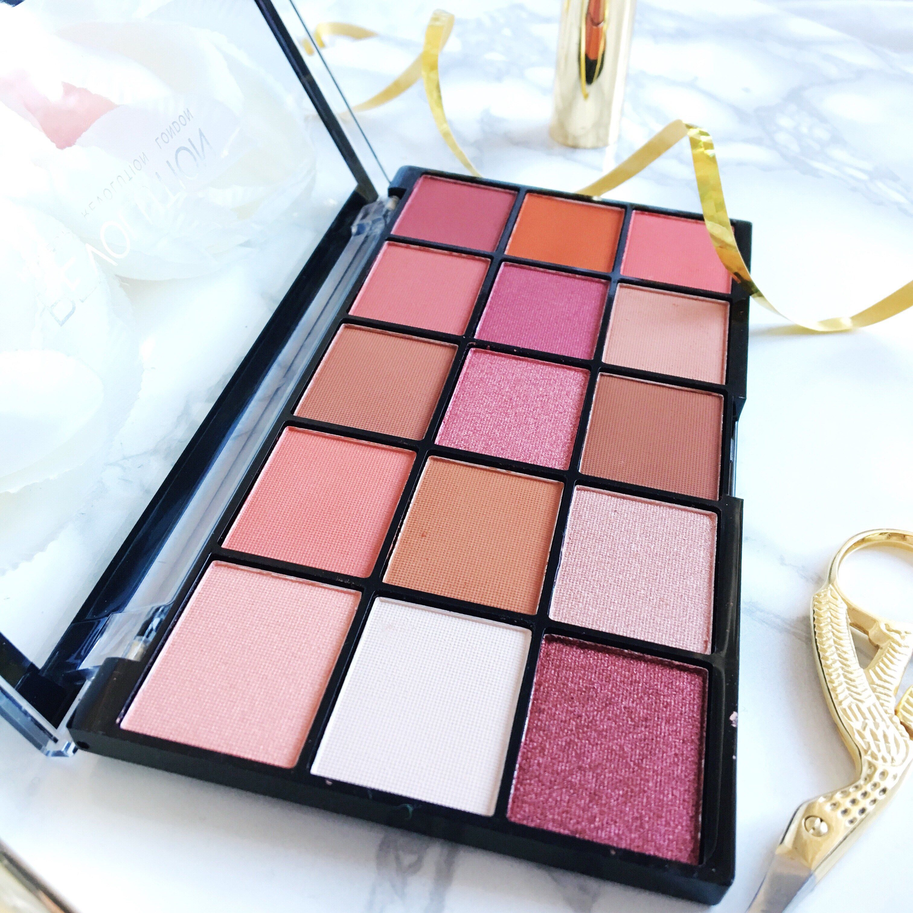 Makeup Revolution Reloaded Newtrals 2 palette Review and