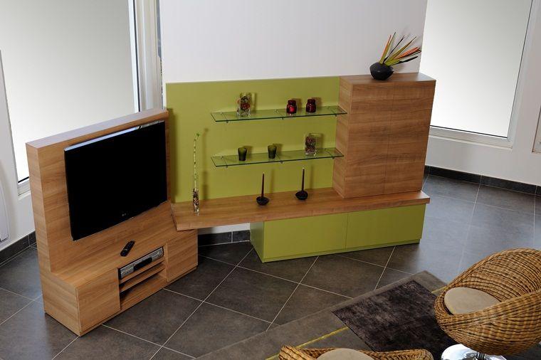 Living meuble TV - Plaku0027art, mobilier, placard, rangements sur