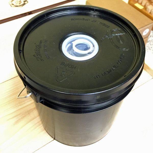 Feeder Bucket Black Plastic Plug Top Black Bucket Plugs Bucket