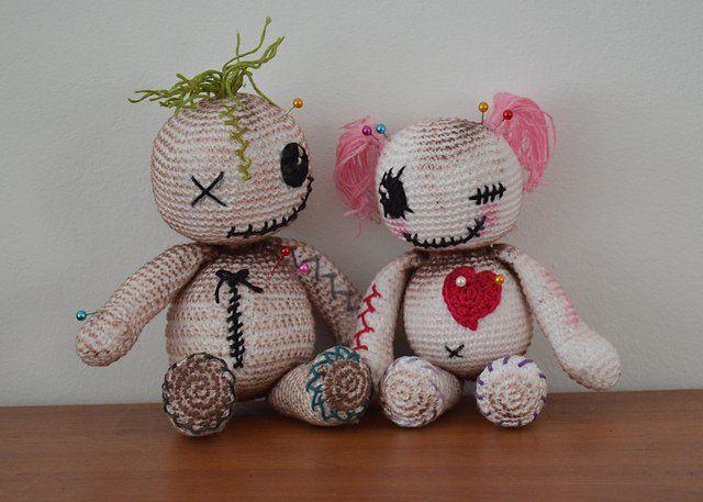 Amigurumi Bebek Tarifleri : Amigurumi voodoo dolls amigurumi patterns voodoo dolls and voodoo