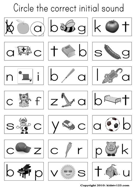 Alphabet \ Phonics Worksheets aot Pinterest Alphabet - phonics worksheet