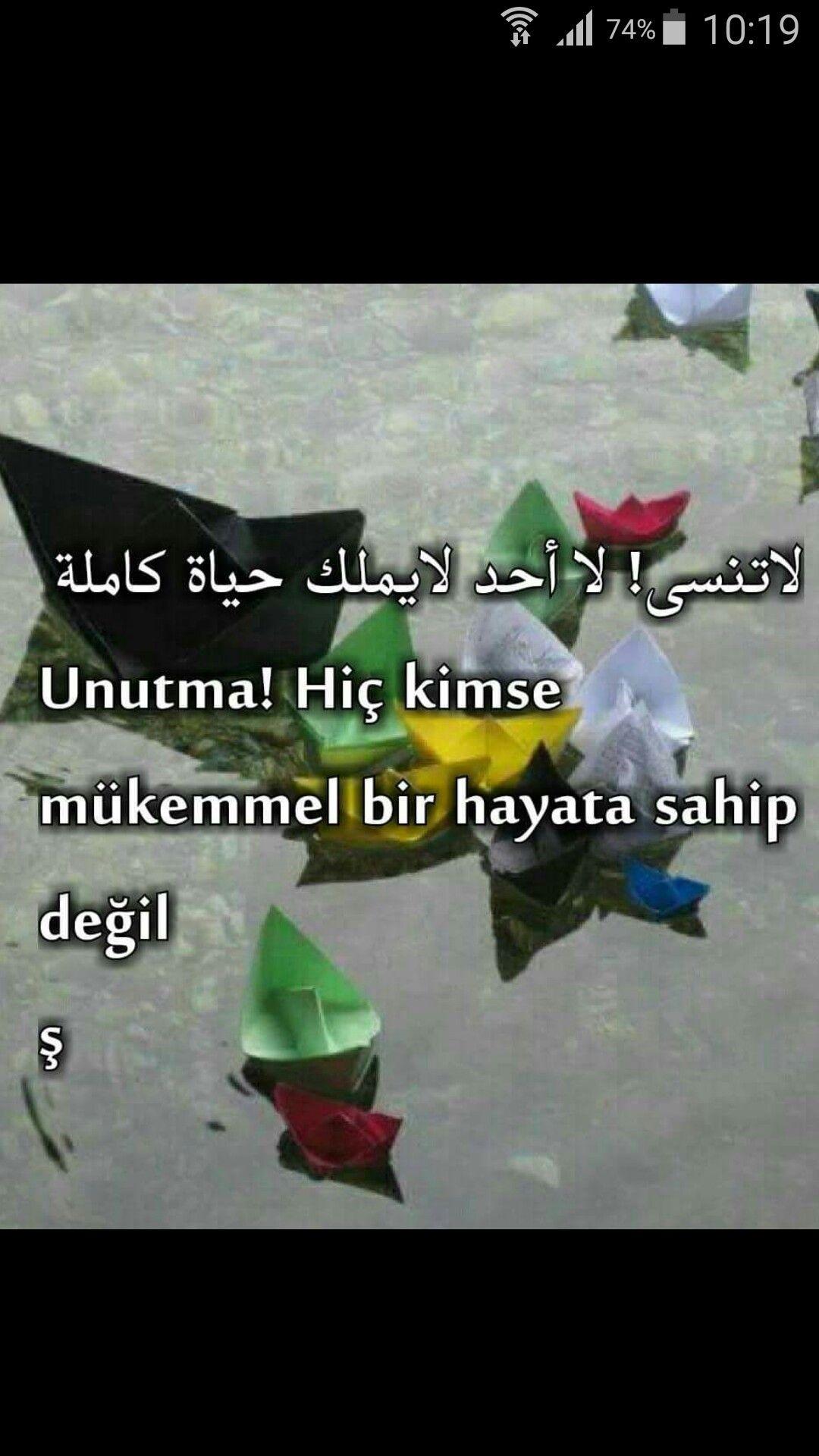 Pin by Ayşegül Gürhan on Arapça yazılar Daily quotes