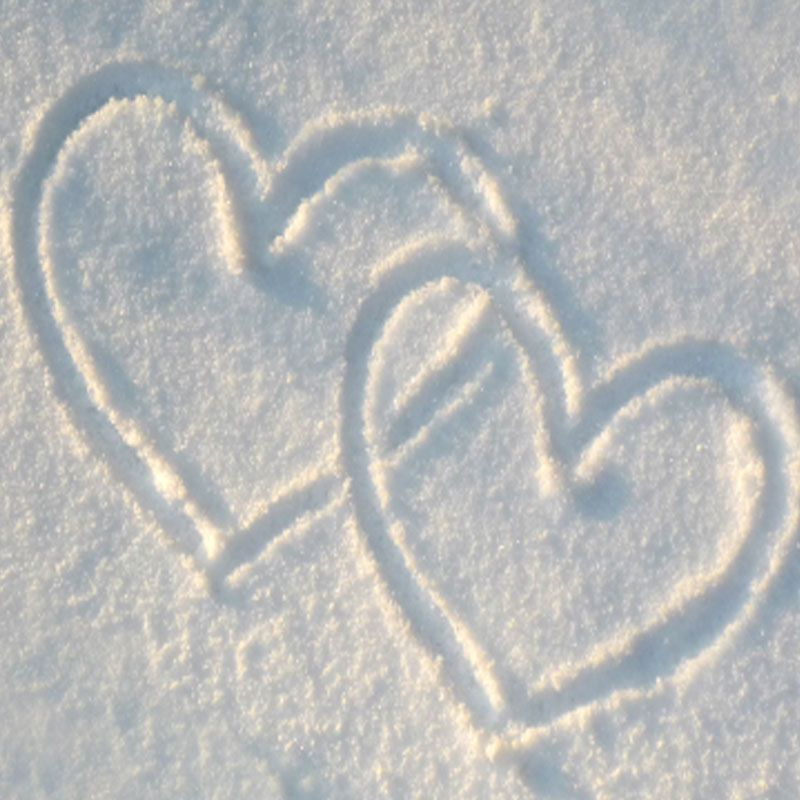 Snow Hearts!<3