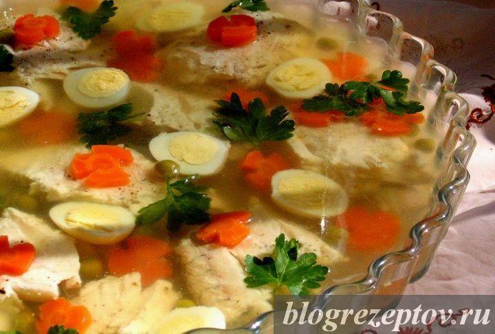 рецепт заливное из судака