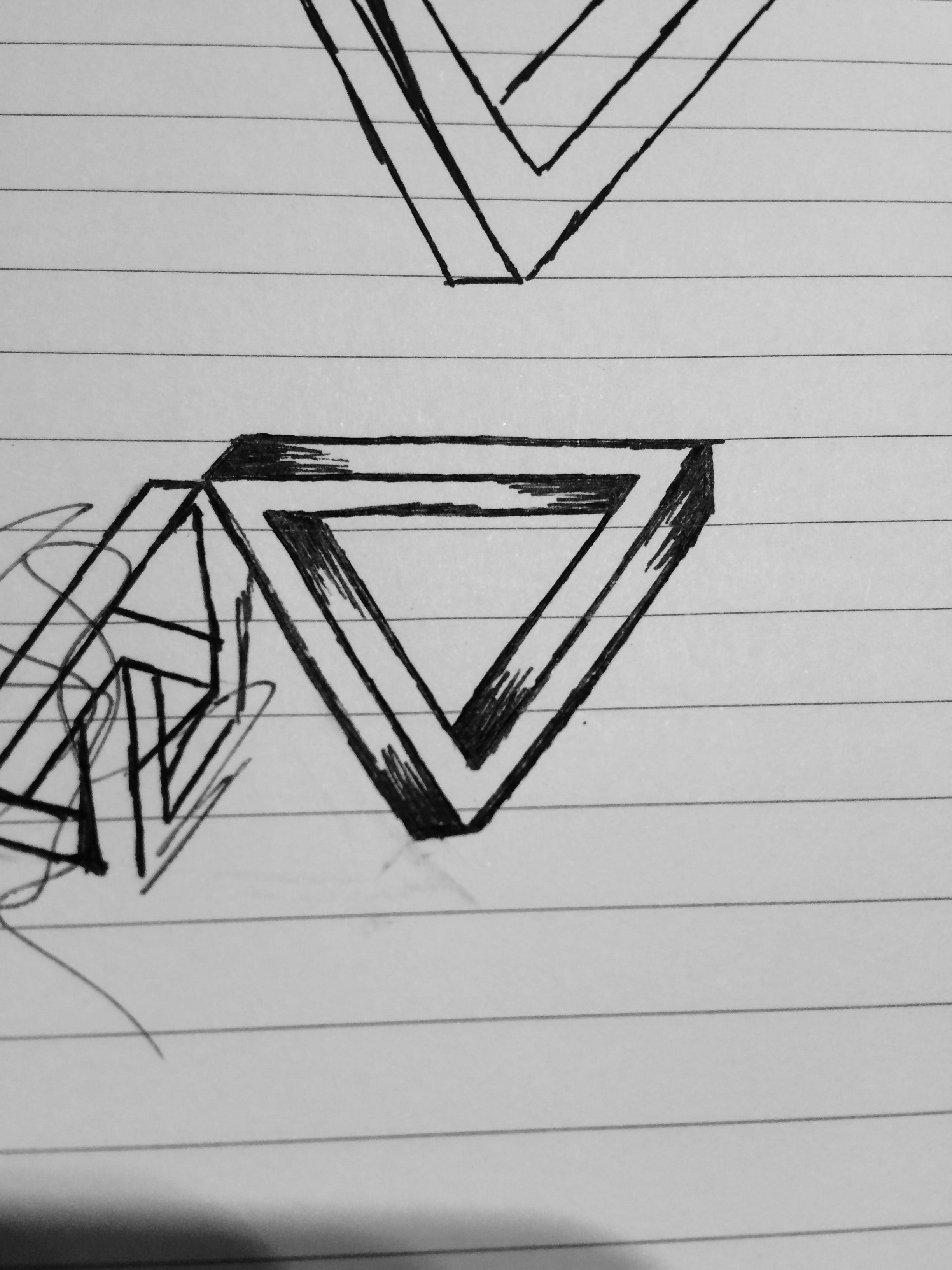 Impossible triangle! Feel free to comment. Art by McKenna B