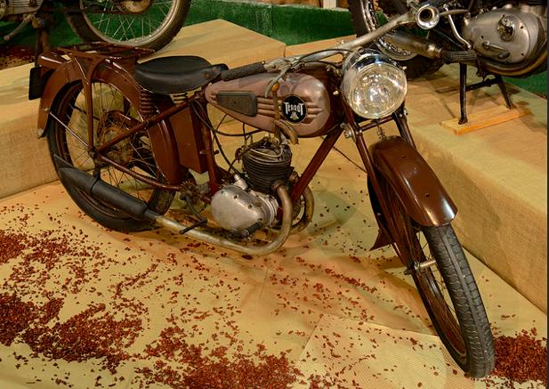 1939 Terrot MT Velomoteur (France) 100cc Split Single Cylinder Two