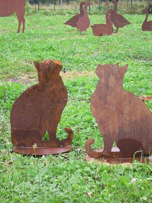 Un objet en fer ou métal rouillé peut être la décoration ...