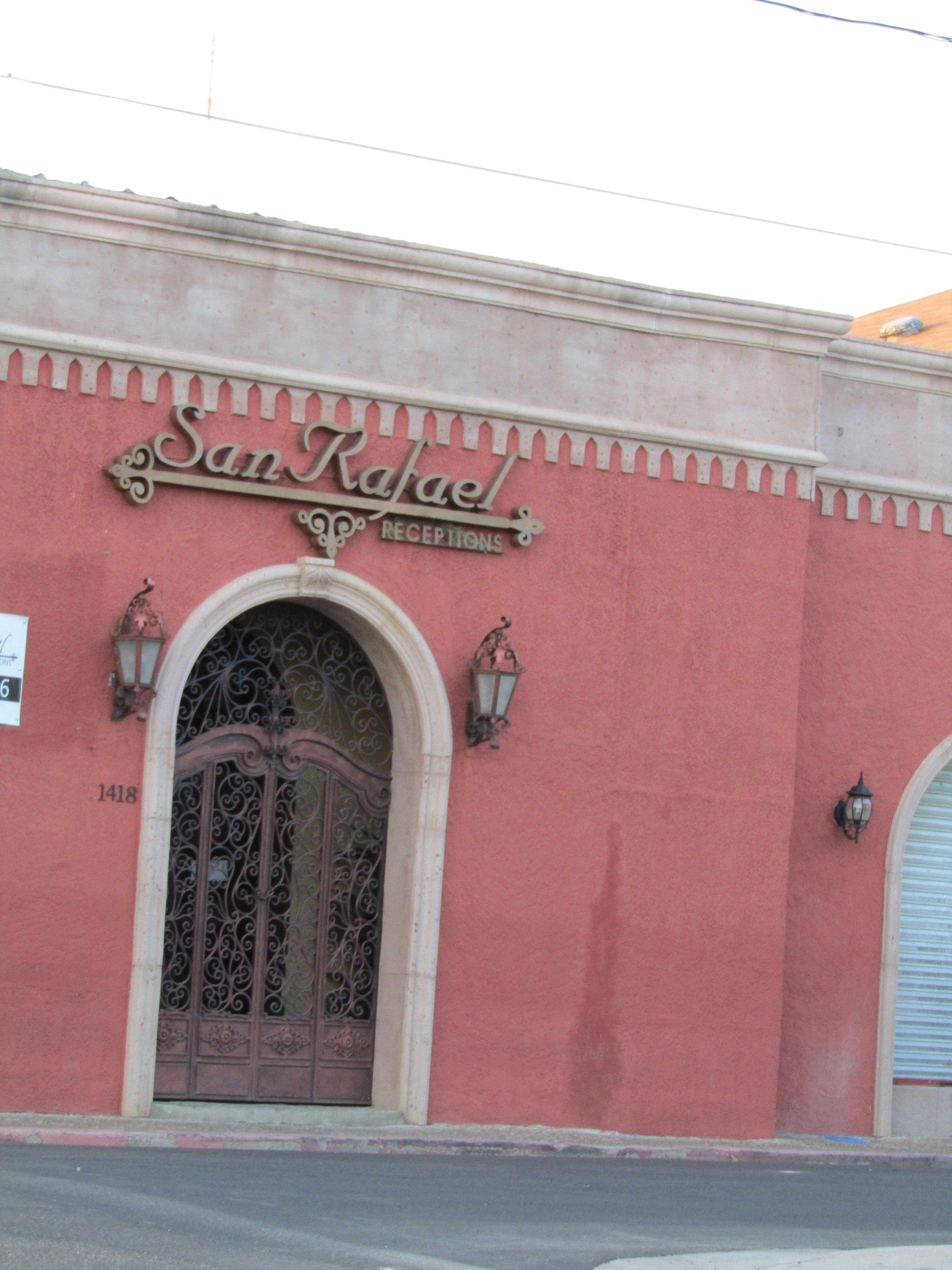 San Rafael Reception Hall In Downtown Laredo Laredo Texas South Texas Travel Laredo San Rafael Safe Cities