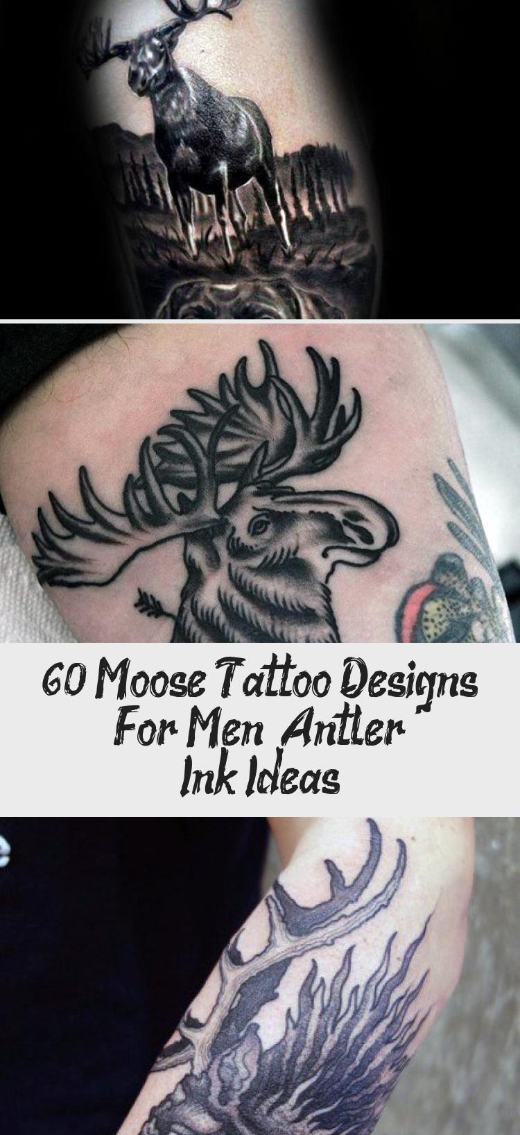Moose Antler Tattoo : moose, antler, tattoo, Moose, Tattoo, Designs, Antler, Ideas, Tattoos, Tattoo,