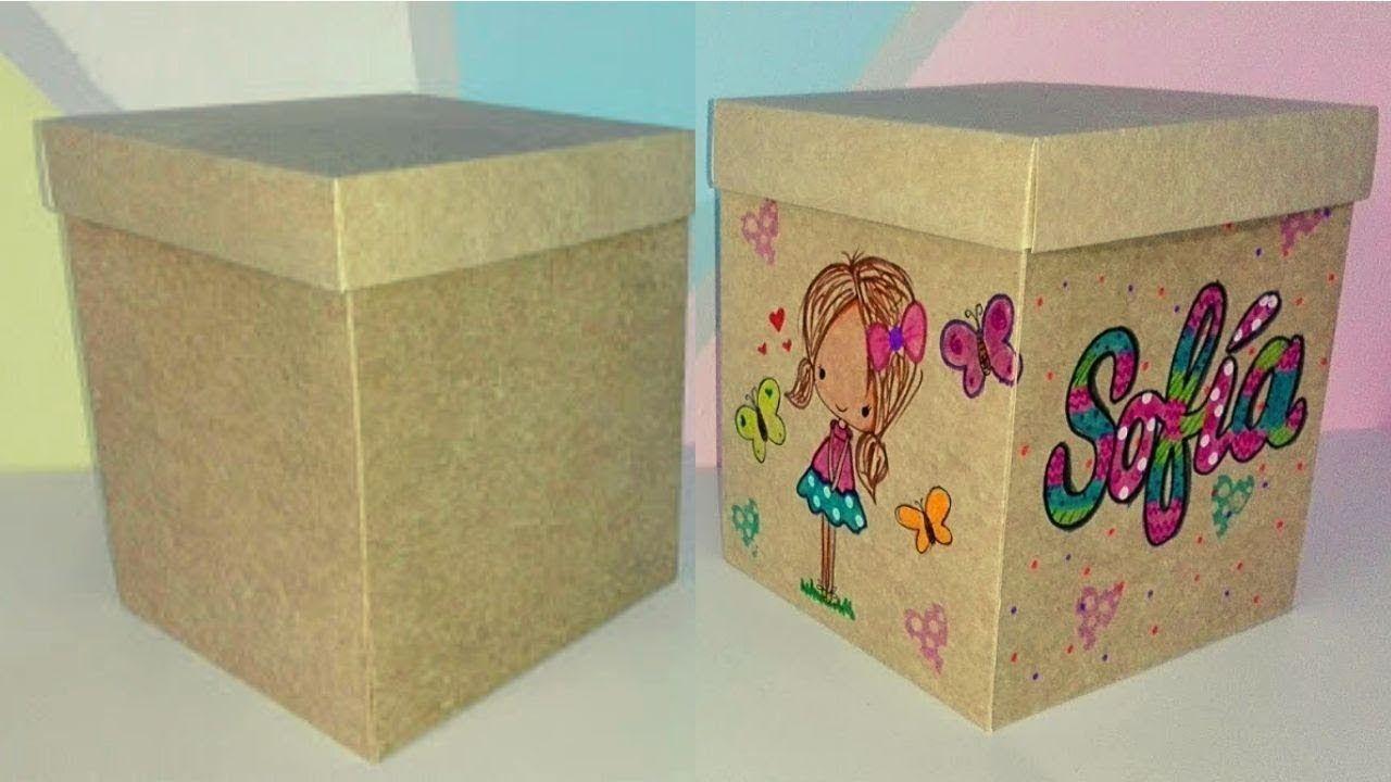 Como Envolver Un Regalo Fomi Hecho Arte Crafts Diy And Crafts Decorative Boxes