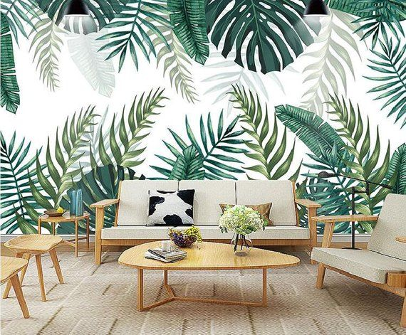 Southeast Asia Tropical Rain Forest Leaves Wallpaper 69750fe52937