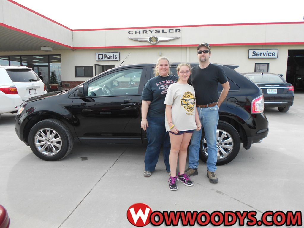 Rusty Ault From Marceline Missouri Purchased This 2007 Ford Edge
