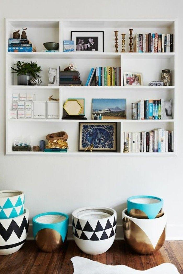 1001 id es comment d corer vos int rieurs avec une niche murale sous les escaliers. Black Bedroom Furniture Sets. Home Design Ideas