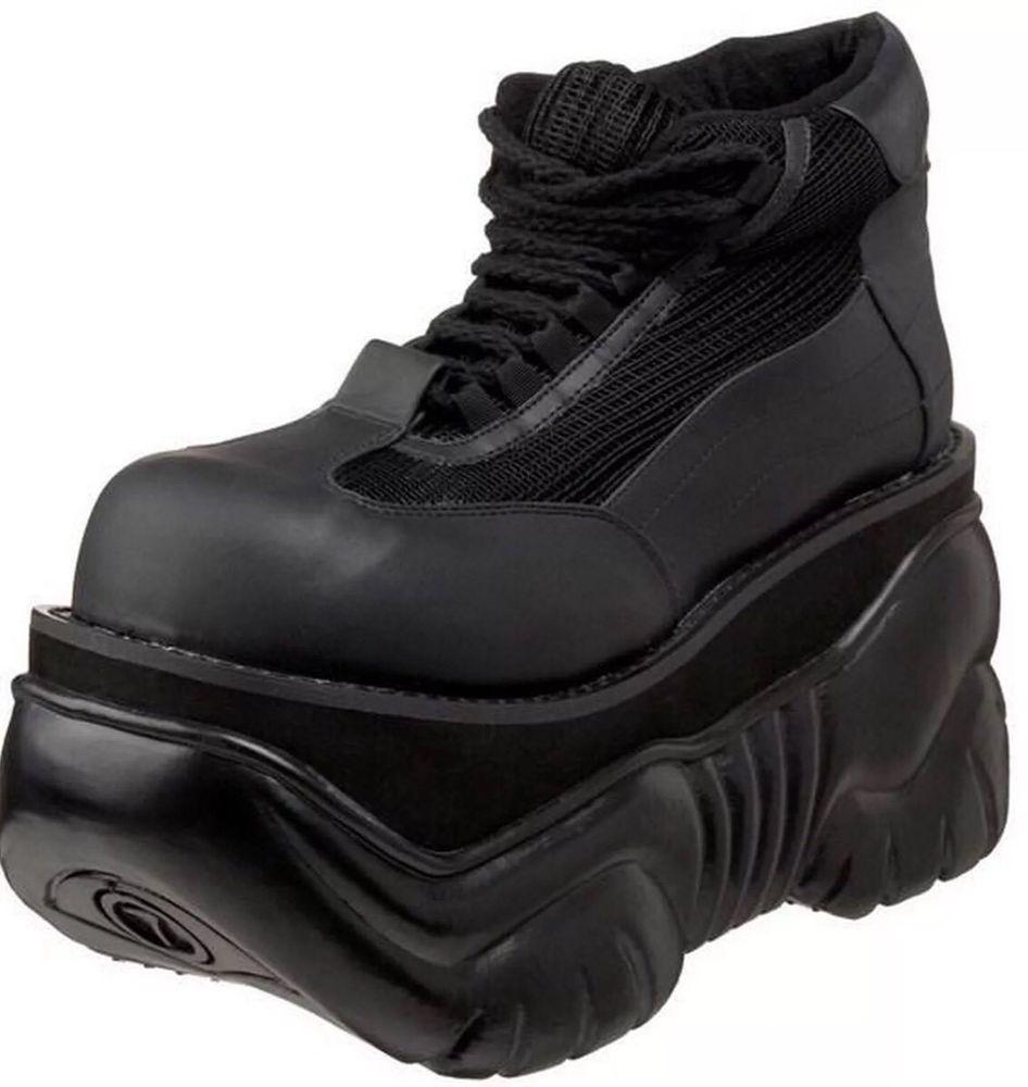 DEMONIA Mens Black Size 12 Sneaker