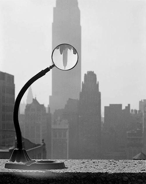 Empire State Building, New York City, USA, 1949 - by Erich Hartmann (1922 – 1993), German