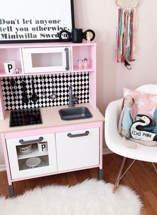 Cocinita de juguete de Ikea #juguetes #cocinitas | Muebles Para ...