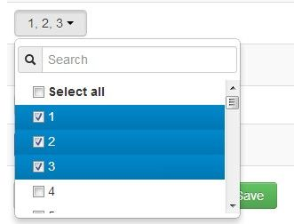 multiselect dropdown with checkbox bootstrap
