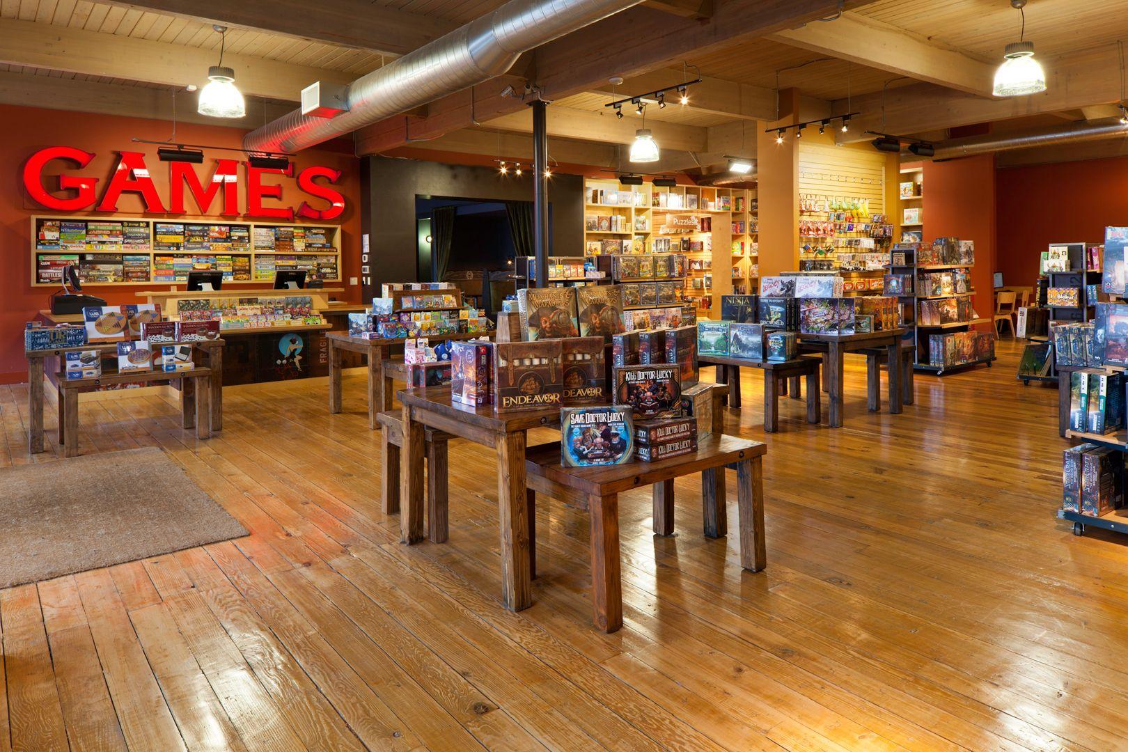 The Evolution of Brick & Mortar Game cafe, Coffee shop decor
