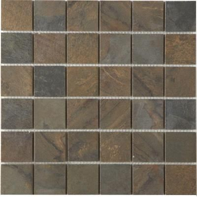 Marazzi terra 12 in x 12 in topaz cypress porcelain mesh mounted topaz cypress porcelain mesh mounted mosaic tile ujcw the home depot ppazfo