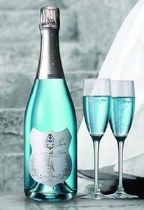 Blanc de bleu premium champagne tiffany blue pinterest - Wandfarbe champagner ...