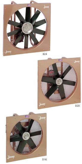 Explosion Proof Fans : Jenny explosion proof fans are hazardous location fans which are built for the ventilation of flammable and explosive gases and vapors.