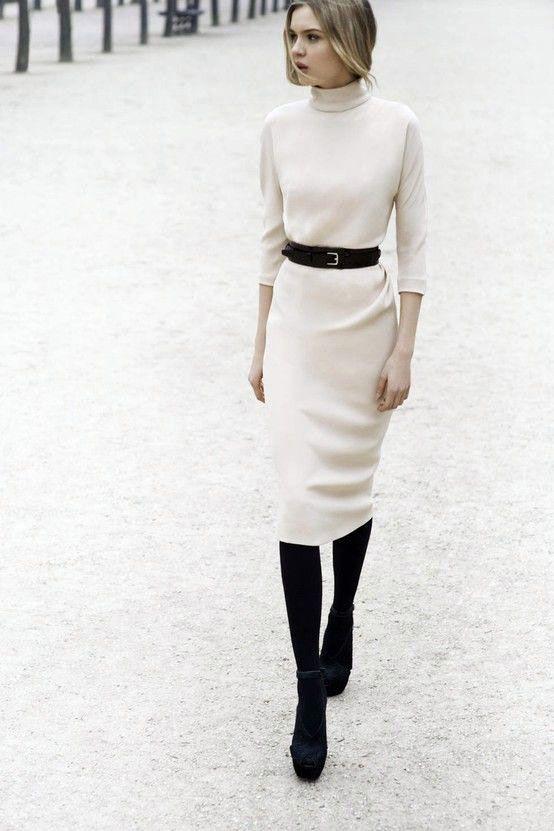lace up in san francisco buying new abito bianco inverno moda tendenze - winter white dress ...