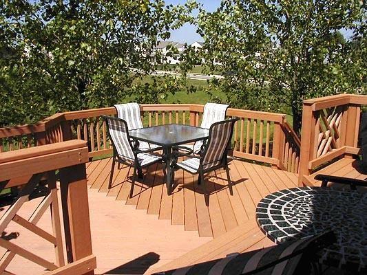 Best Timbertech Redwood Composite Deck Delaware Oh Columbus 400 x 300