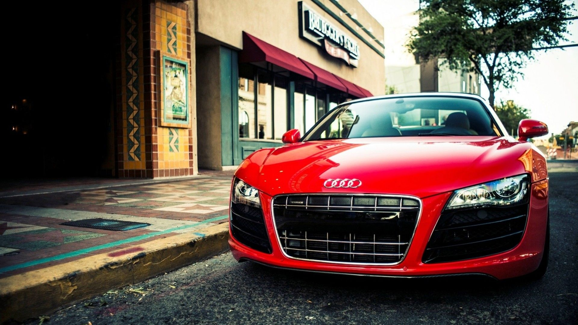 Red Aaudi R8 HD Wallpapers 1080p Super Cars | 11 ...