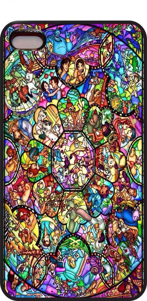 Disney Princess Stained Glass Woody Toy Story iphone case