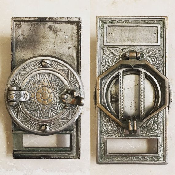 Attractive Antique Door Knocker With Peephole / Speakeasy Door Grill / Ornate Door  Hatch With Grate /