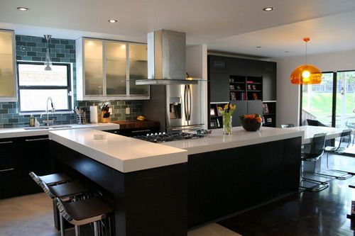 Kitchen Island Shapes the most popular kitchen island shapes home design interiors with