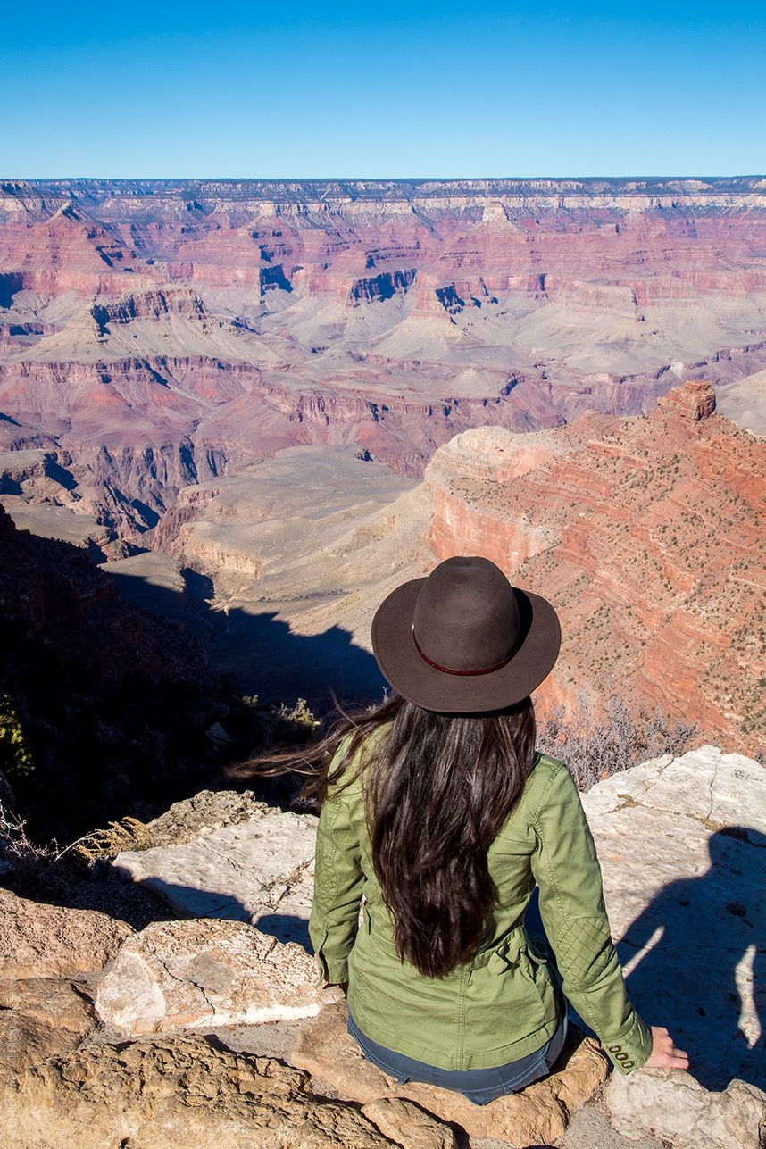 the perfect day trip to the grand canyon south rim | pinterest