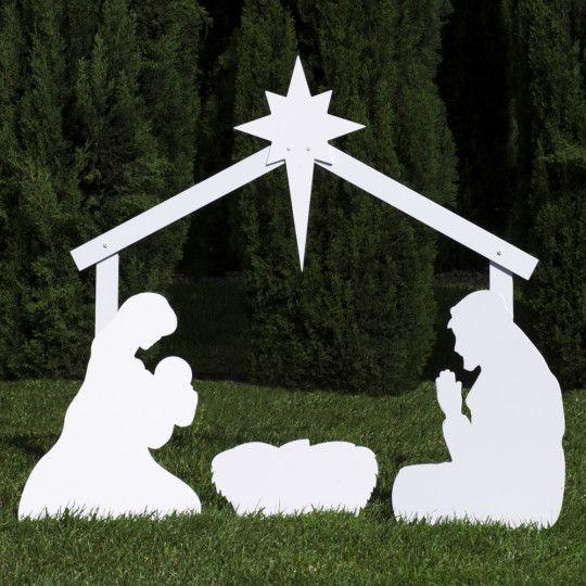 The Holy Family Outdoor Nativity Scene Outdoor Nativity Outdoor Nativity Sets