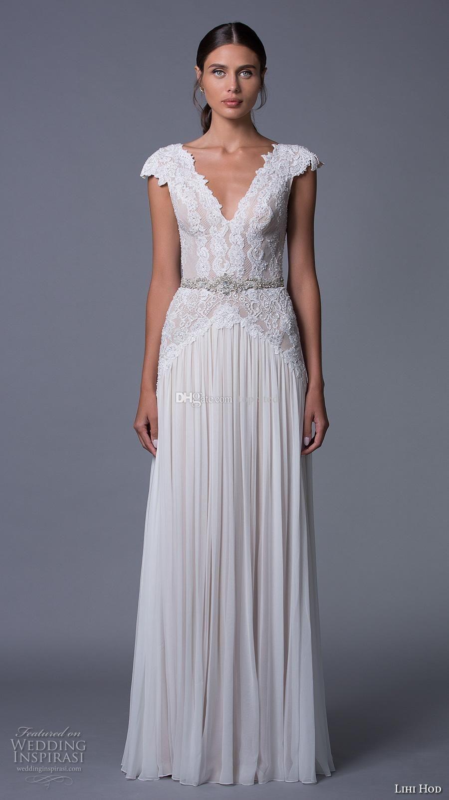 lace cap sleeve wedding dress top