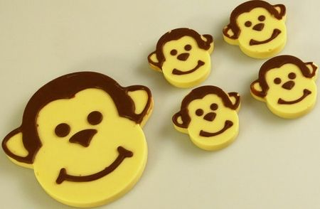 DAIRY FREE Monkey faces chocolate - The Supermums Craft Fair