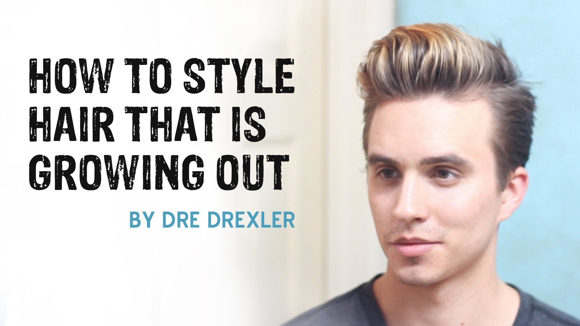 How To Style Hair Growing Out Ditching The Undercut Men S Hairstyles Growing Out Hair Growing Hair Out Men Short Hairstyles For Thick Hair