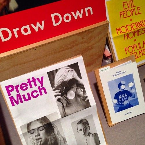 "drawdownbooks: "" Draw Down #nyabf #drawdown #books #bookart #printedmatter (at MoMA PS1) """