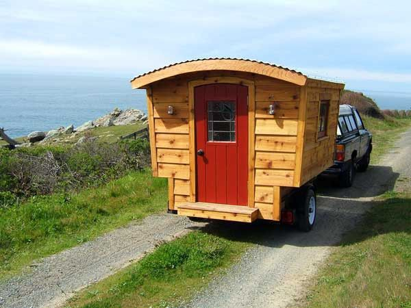 tiny house plans: the vardo is designed to fit in most truck beds or