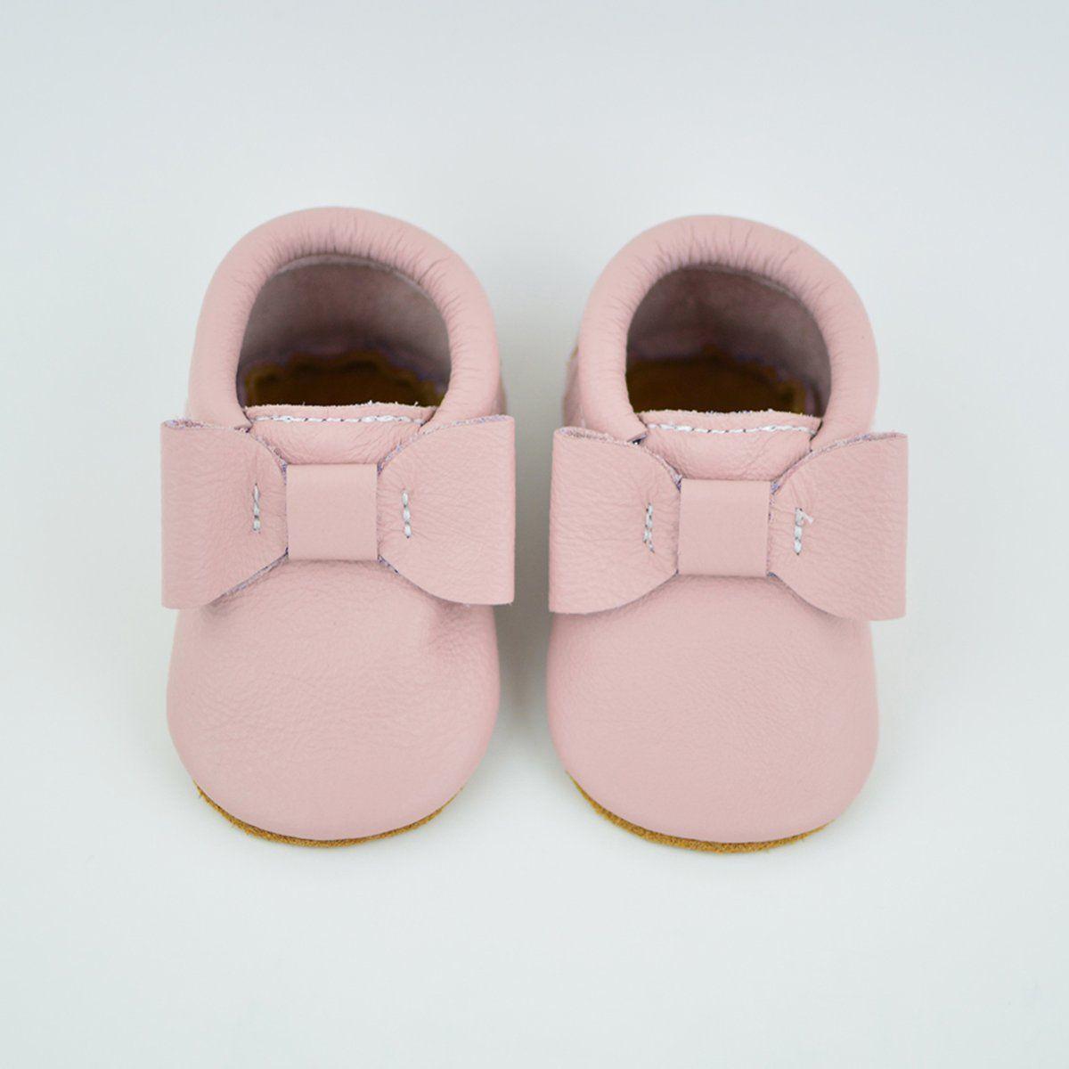 95c409f6dedaa New) Blush Pink Bow Moccs | A few of Maddie favorite things | Blush ...