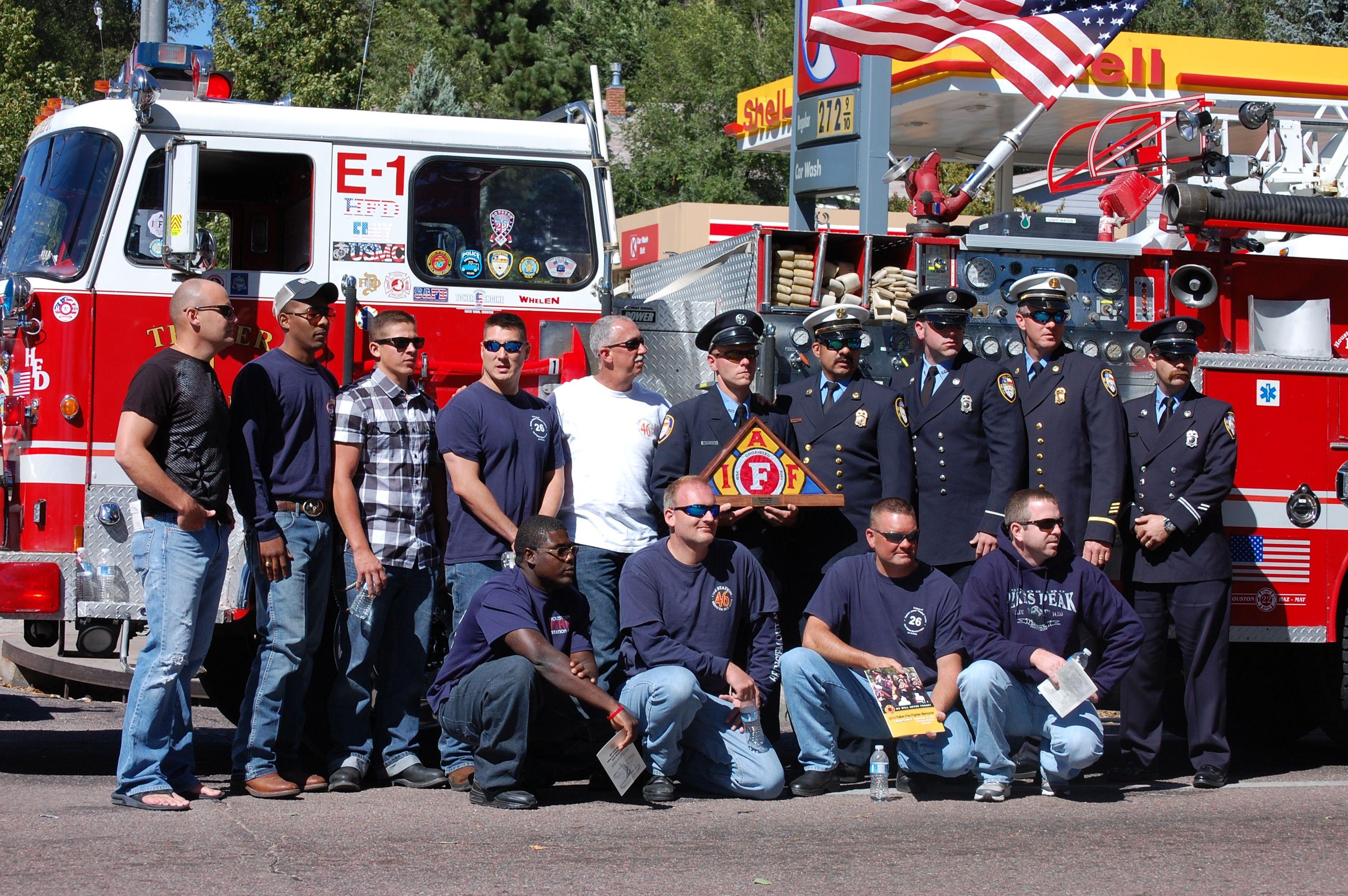Colorado springs firefighter memorial houston fire