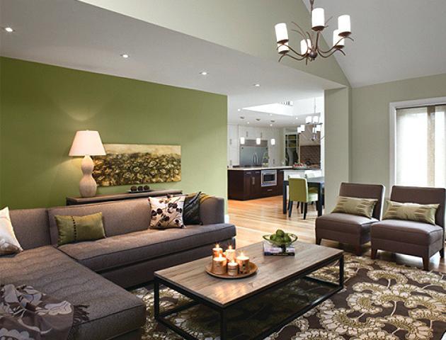 Cream Green And Brown Living Room Paint Ideas Google Search Dekorasi Kamar Dekorasi