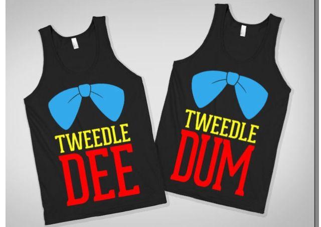 I'm Tweedle DUM