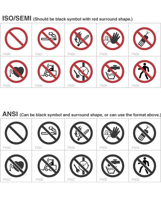 Symbols Safety Label Design Guide Safety Symbols Abstract